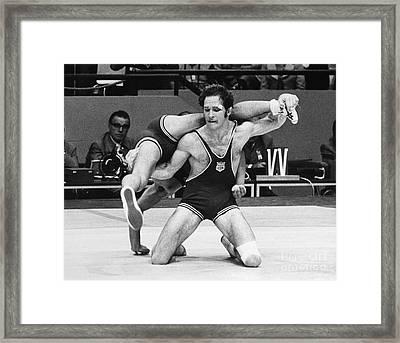 Olympics: Wrestling, 1972 Framed Print