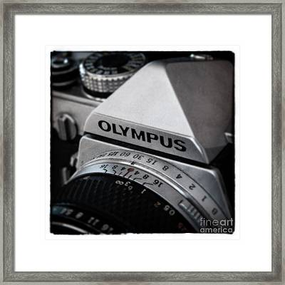 Framed Print featuring the photograph Om-1 - D010028b by Daniel Dempster