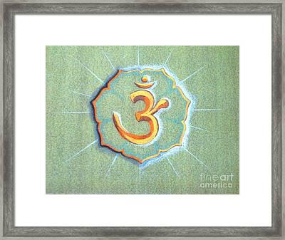 OM Framed Print by Shasta Eone