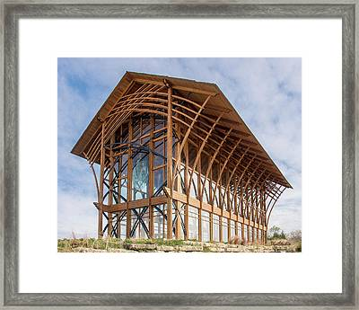 Omaha Holy Family Shrine 3 Framed Print