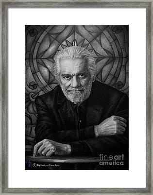 Omar Sharif Framed Print by Yonan Fayez