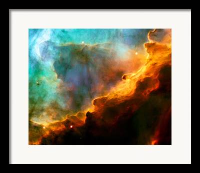 Swan Nebula Framed Prints