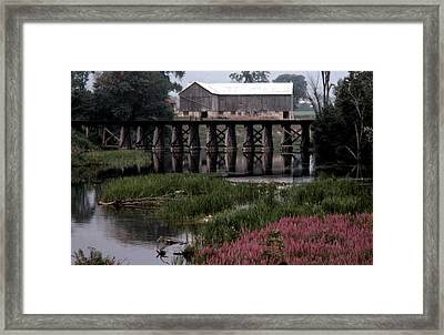 Omemee In The 70 Framed Print by Lyle Crump