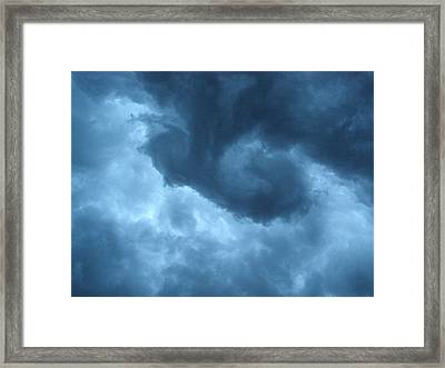 Framed Print featuring the photograph Ominous  by Angie Rea