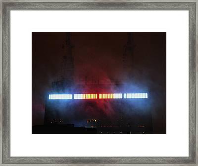 Ominous Hancock Framed Print by Codee Hart