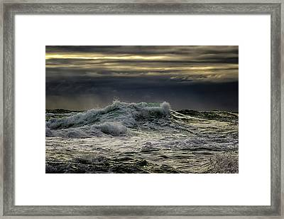 Ominous Framed Print by Stelios Kleanthous