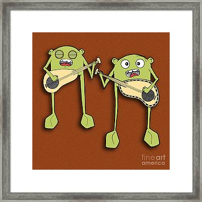 Omti And Itmo Framed Print
