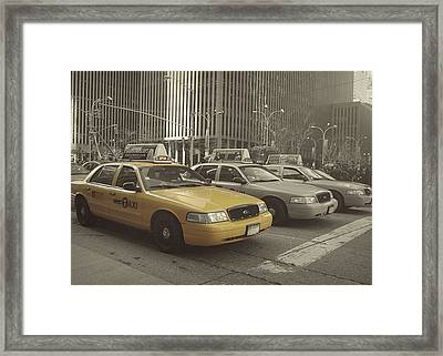 On 5th Avenue Framed Print by JAMART Photography