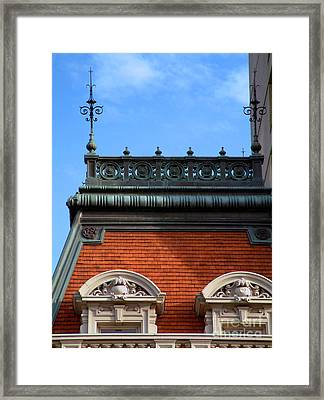 Framed Print featuring the photograph On A Clear Day by RC DeWinter