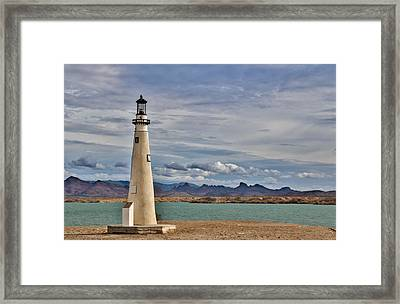 On A Cloudy Day Framed Print