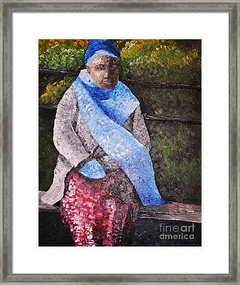 On A Cold Day Framed Print by Reb Frost
