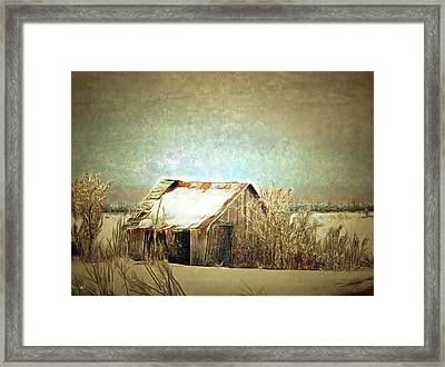 On A Cold Winter's Day Framed Print