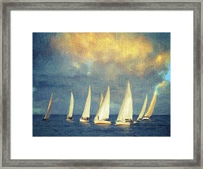 On A Day Like Today  Framed Print