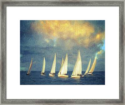 On A Day Like Today  Framed Print by Taylan Apukovska