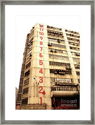 Framed Print featuring the photograph On A Dozen Different Levels by Ethna Gillespie