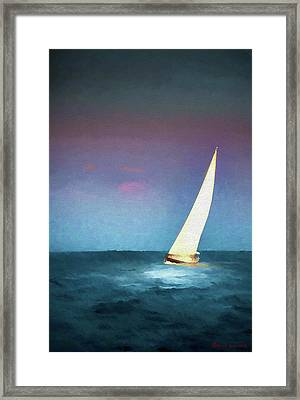 On A Good Day Framed Print by Marvin Spates