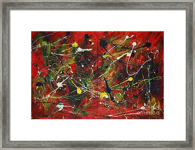 On A High Note Framed Print by Jacqueline Athmann