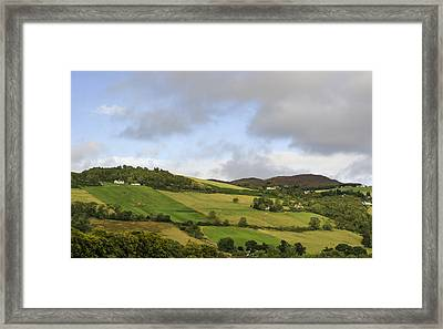 Framed Print featuring the photograph On A Hill by Christi Kraft