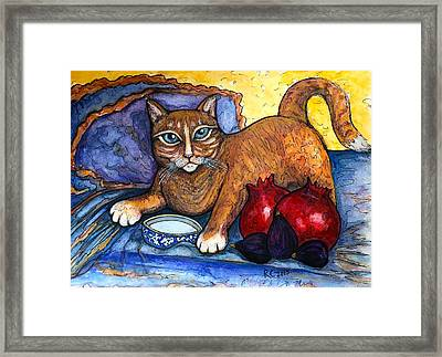 On A Lap Of Luxury Framed Print