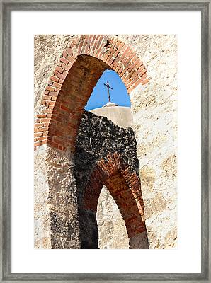 Framed Print featuring the photograph On A Mission by Debbie Karnes