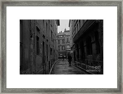 On A Rainy Day Framed Print by Cendrine Marrouat