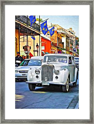 On A Roll - Paint Framed Print