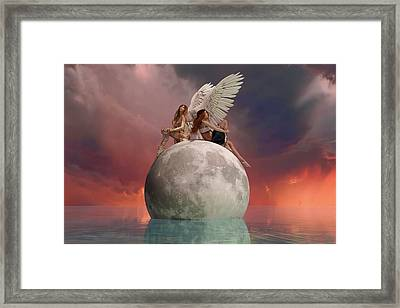 On A Wing And A Prayer Framed Print