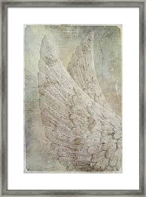 On Angels Wings 2 Framed Print