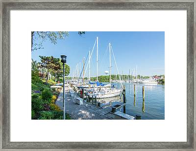 Framed Print featuring the photograph On Back Creek by Charles Kraus
