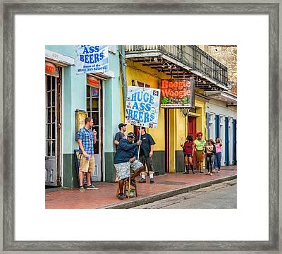 On Bourbon Street 2 Framed Print by Steve Harrington