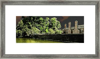 Framed Print featuring the photograph On Golden Pond by Bill Swartwout Fine Art Photography