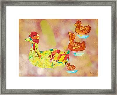 On Golden Pond  Framed Print by Marianne Davidow