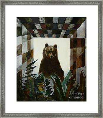 On Guard Framed Print by Jukka Nopsanen