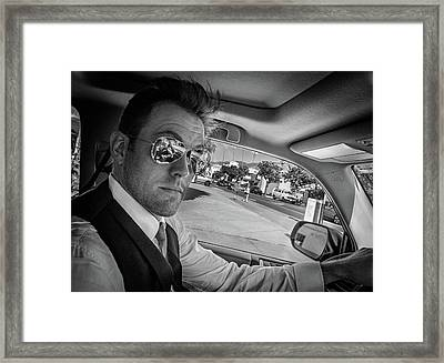 On His Way To Be Wed... Framed Print