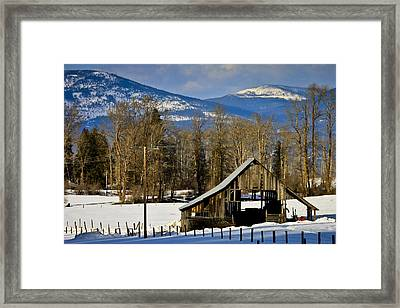 On Hold Framed Print