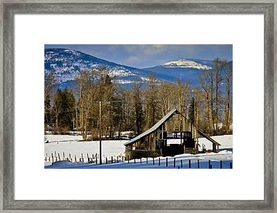 On Hold Framed Print