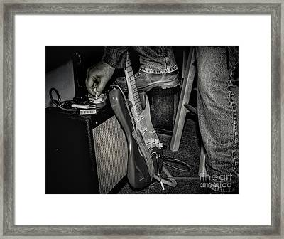 On In Two Minutes Framed Print by Robert Frederick