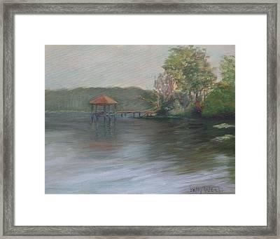 On Julington Creek Framed Print