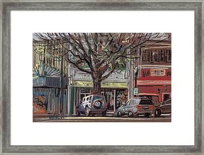 On Marietta Square Framed Print by Donald Maier