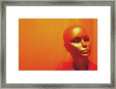 On My Own Again Framed Print by Jez C Self
