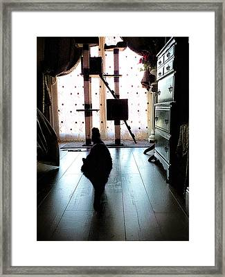 On My Way Framed Print by Camille Lopez