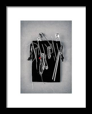 Seamstress Framed Prints
