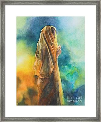 On Reflection Framed Print by Kate Bedell