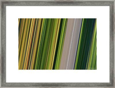 On Road II Framed Print