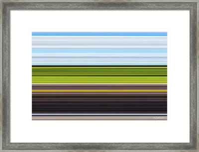On Road IIi Framed Print