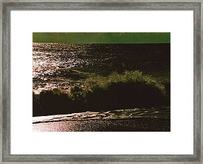 On Rush Framed Print