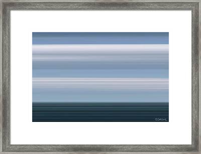 On Sea Framed Print