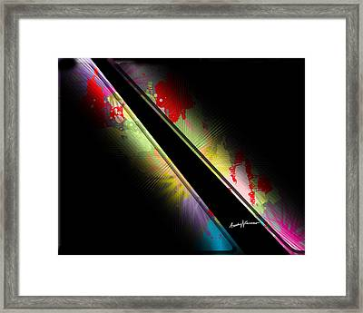 On Slant Framed Print by Anthony Caruso