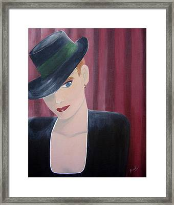 On Stage Framed Print by Donna Blackhall