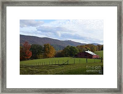 On Sully Road Framed Print